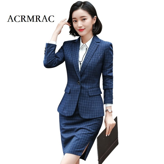 Acrmrac Women New Autumn And Winter Suit Long Sleeved Suit Small