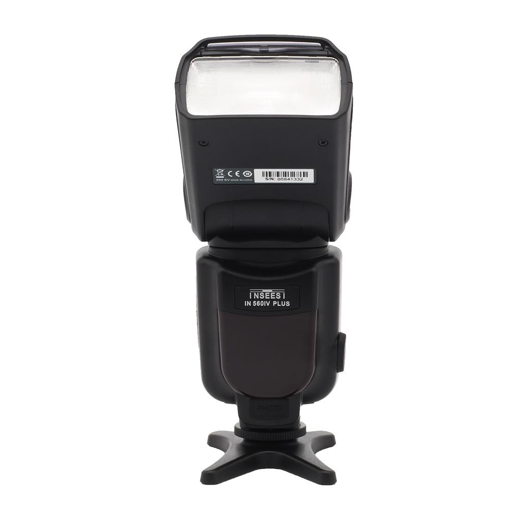 Nový INSEESI IN 560 IV IN-560IV PLUS nebo Viltrox JY-680A Bleskový - Videokamery a fotoaparáty - Fotografie 4