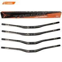 TOSEEK Full Carbon Fiber Bicyle Mtb Handlebar Mountain Bike Handlebars 31 8 750 820mm Ultra Long