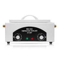 Профессиональный высокотемпературный стерилизатор коробочкой, дизайн ногтей салон портативный стерилизатор Маникюрный Инструмент сушил