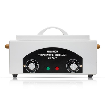 Professional High Temperature Sterilizer Box Nail Art Salon Portable Sterilizing Tool Manicure   Dry Heat