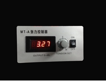 MT-A Manual Magnetic Particle Tension Controller Precise Tension Controller 0-4A (embedded) ktc818 1ad radius tension controller taper tension controller replacement for tc 2030 tension controller