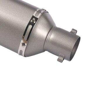 Image 4 - 38~51mm Universal Motorcycle Exhaust Muffler Modified with DB Killer For PCX150 CBR125 CBR150 MSX125 M3 MSX125SF CBR250 CBR300R