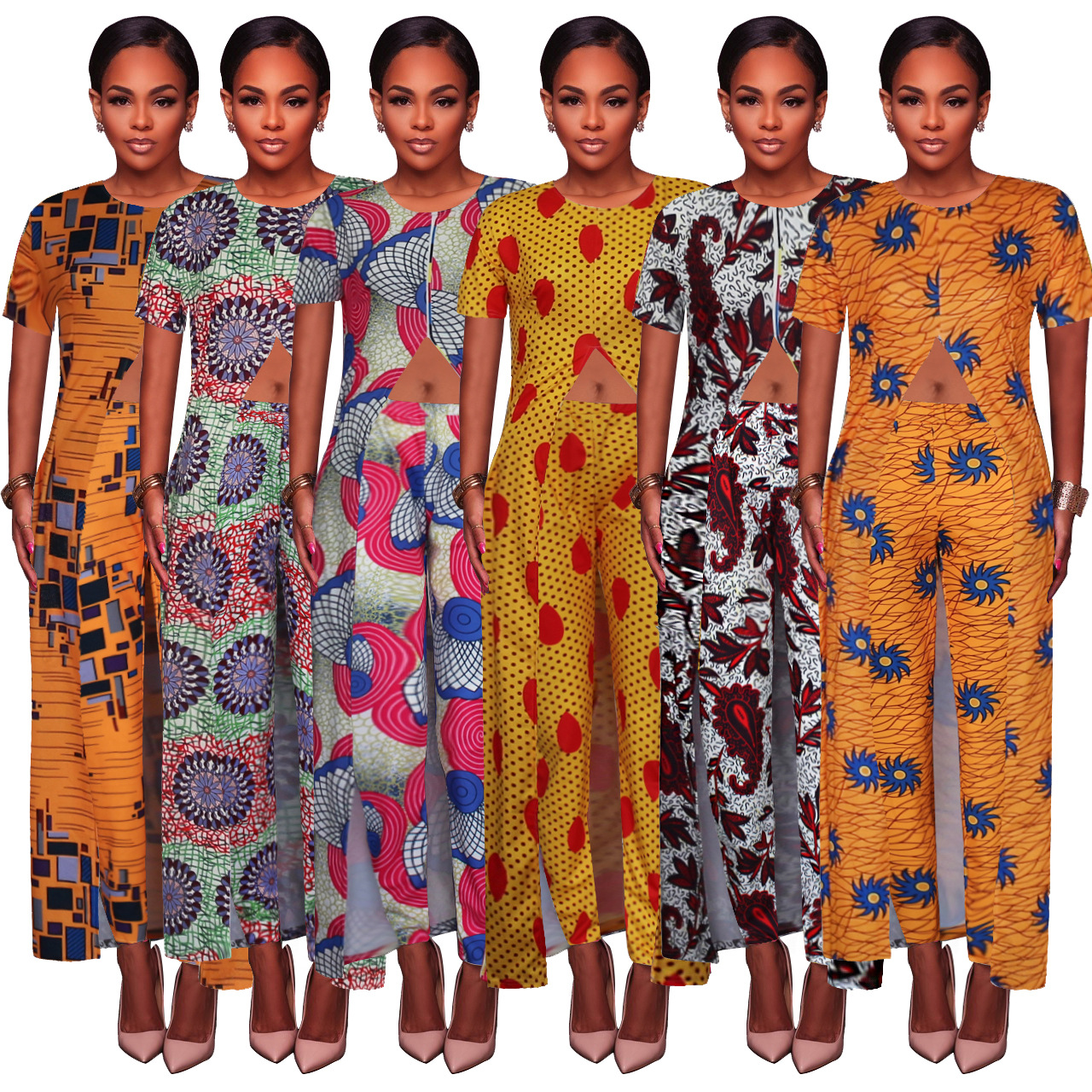 Africa  Dresses 2019 New Fashion Style Plus Size African Women Suit