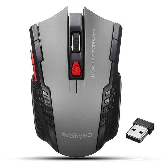 Новый 2.4 ГГц мини Портативный Беспроводной Мышь оптическая USB 2000 Точек на дюйм регулируемый Профессиональный Игры игровые Мышь Мыши компьютерные для портативных ПК