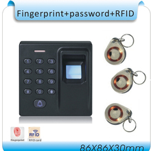 Free shipping Newest D1 Fingerprint Access Control system /password +125KHZ ID card access +10pcs ID card, no software