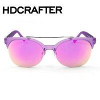 Homens Clássico Marca Aviação Óculos De Sol HD Polarizada Condução óculos de Sol de Luxo de Alumínio
