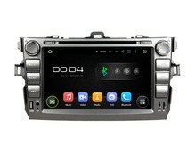 1024*600 Quad Core 8″ Android 5.1 Car dvd player for toyota Corolla 2006-2011 With Car Radio GPS 3G WIFI Bluetooth USB 16GB ROM