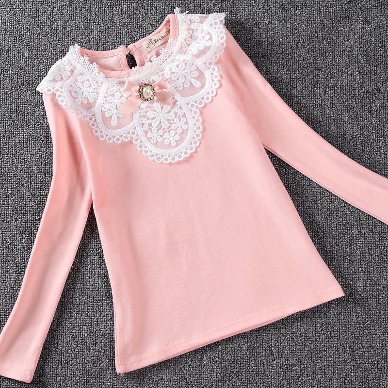 2017 tavaszi lányok blúz ingek divat új márka baba lány ruházat - Gyermekruházat - Fénykép 5