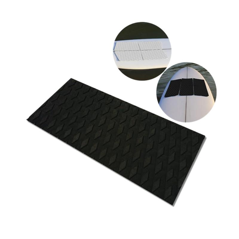 Surfboard Deck Traction Board Eva Anti-Skid Pad 3M Adhesive Anti-Skid Deck Pad for Boat Deck,Kayaking,Surfboard,Vertical Paddl(China)