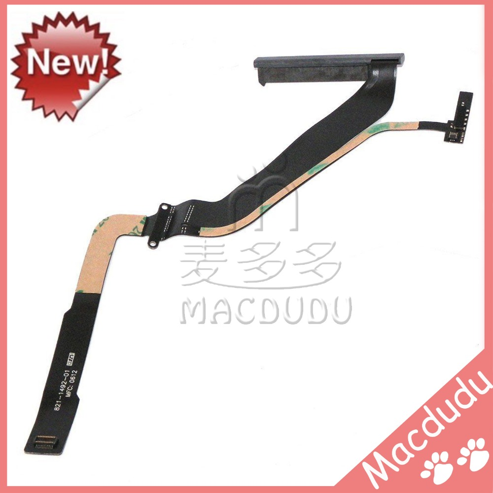 New Hard Drive SATA Flex Cable For MacBook Pro 15 A1286 821-1492-A Mid 2012 MD103 MD104