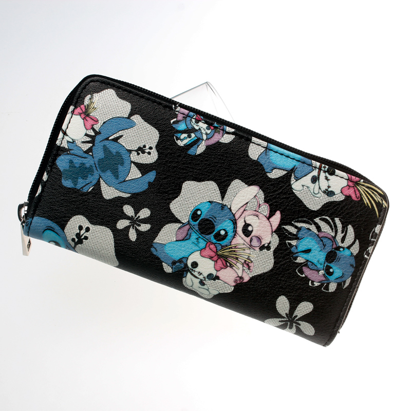 Stitch  Zip Around Wallet Fashion Women Wallet Designer Brand Purse Lady Party Wallets Female Card Holder   DFT-2055