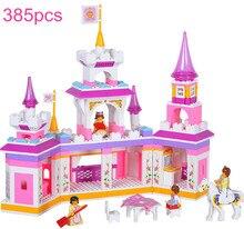 Princess Castle Series Building Blocks Set Educational enlighten DIY Girl Bricks Toys Compatible with Legoe