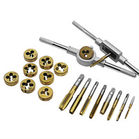 Top Quality Alloy Steel Tap and Die Set Metric Tap Dies Set for Professional Use 20pcs/set