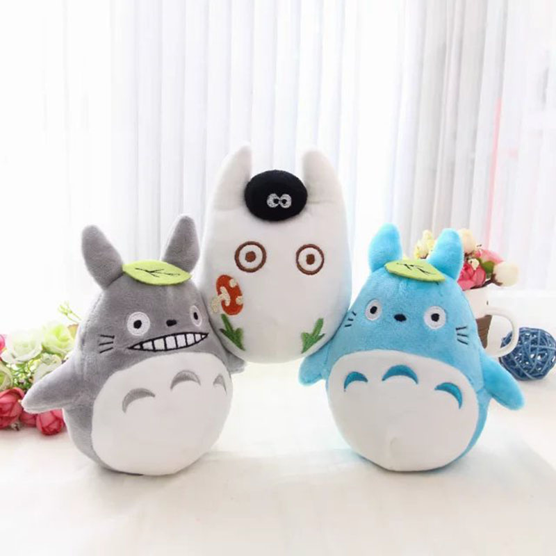 fast shipping high quality 15cm totoro faceless plush toy Japanese anime mini plush doll car room decoration cartoon kids toy japanese anime figures doraemon 5pcs set car decoration japan comics doraemon garage kits doll toy