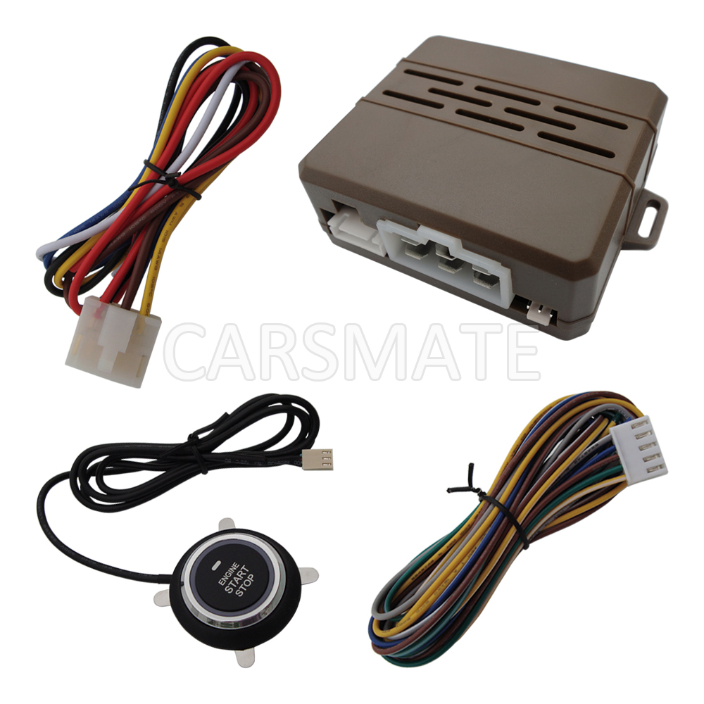 In Stock Smart Remote Start Car Module With Engine Start Stop Button 10 Minutes Countdown Stop