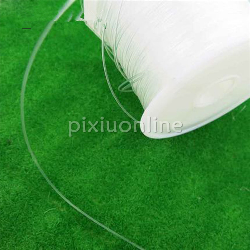 Hand & Power Tool Accessories 1roll J215 Strong Strength Transparent Line Fish Wire Kite String Diy Material Free Shipping Russia Firm In Structure
