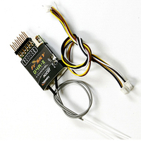FrSky D4R II Two way 2.4G 4 Channel Receiver RSSI PWM CPPM output for RC Model Airplane Multicopter