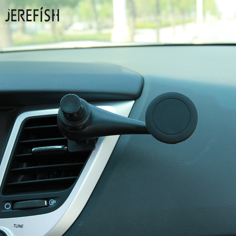 360 Rotation Magnetic Air Vent Car Mount Holder Cradle Universal Car phone Holder Magnet Stand For iPhone 8 GPS