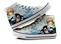 High Q Unisex Naruto Canvas Shoes Plimsolls Cosplay Uzumaki Naruto Uchiha Sasuke Itachi Casual Lovers Canvas