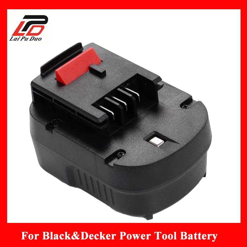 Brand New 2.5Ah 12V Ni-MH Replacement Power Tool Battery for Black&Decker FS120B,CP122K,A12,BD12PSK,FSB12,A12-XJ,HPB12