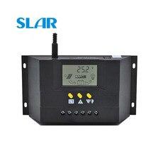 Regulador de carga Solar CM3024Z CM5024Z 30/50A 12/24 V PWM carga LCD paneles solares voltaje de genetador actual
