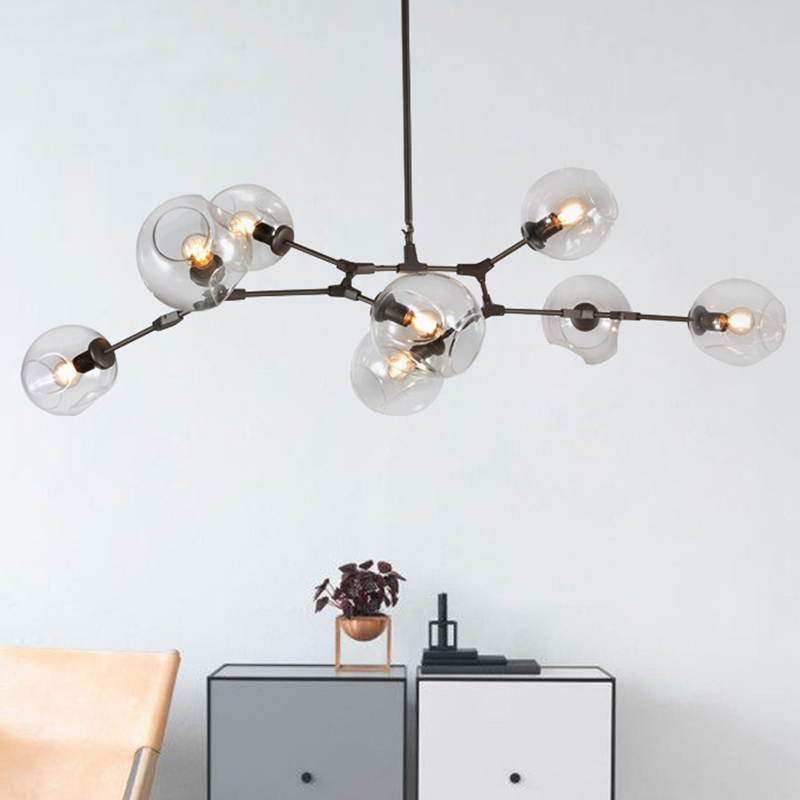 Vintage industrial pendant lights modern retro pendant lamp for living dining room bar shop Restaurant hanging lighting fixture modern pendant lights spherical design white aluminum pendant lamp restaurant bar coffee living room led hanging lamp fixture