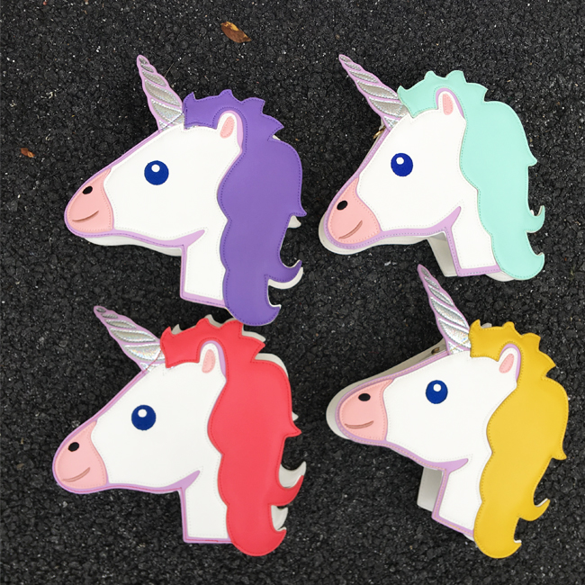 Coloured Unicorn Horse Crew Gift Unisex Hoodie Men//Women