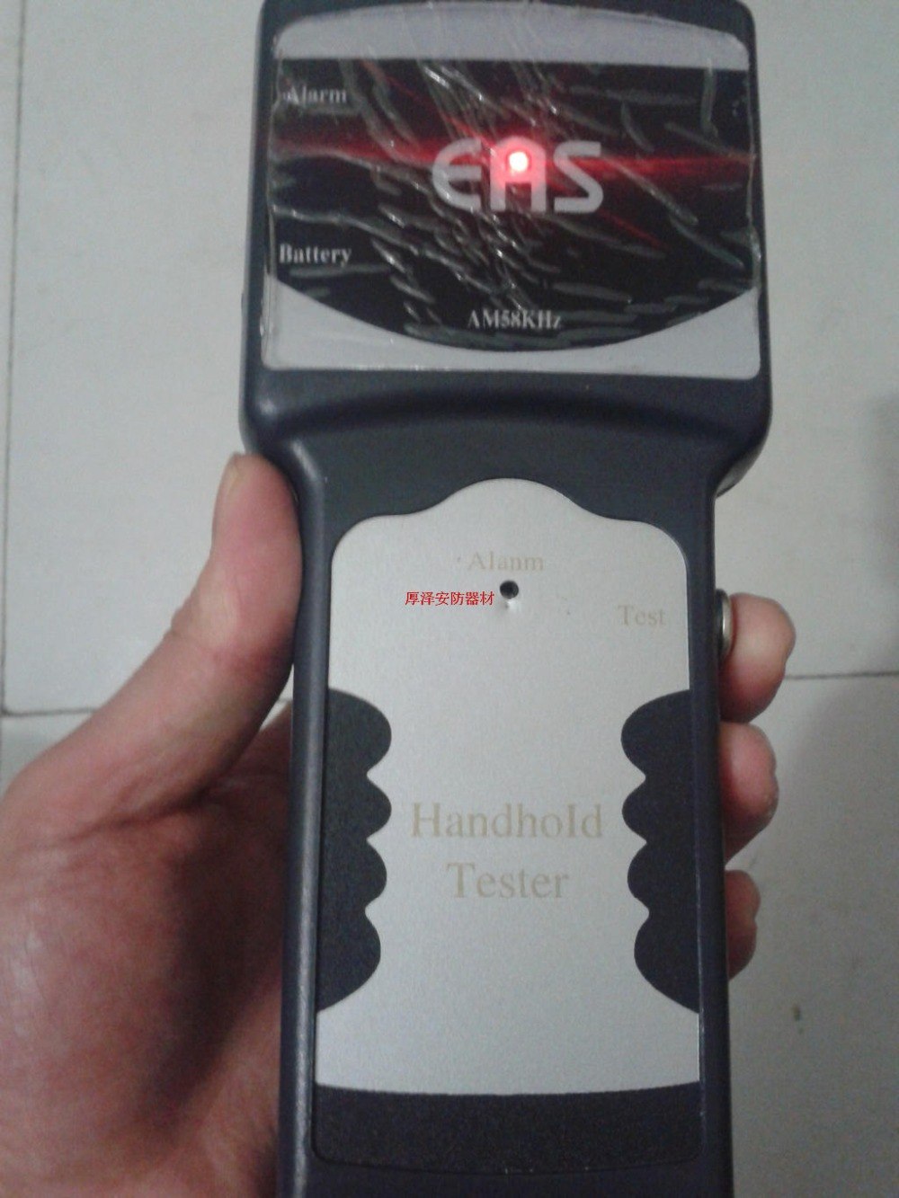 HZSECURITY, Handhold tester RF8.2MHZ, handheld anti-theft detector hzsecurity electromagnetic system em library anti theft system one aisle
