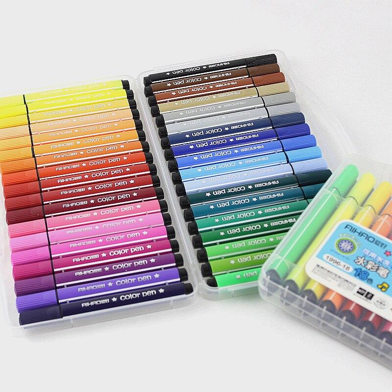 Цвет ручки art маркера рисунок комплект Цвет S детей воды Цвет ручка Безопасные нетоксичные воды граффити здоровья и окружающей среды