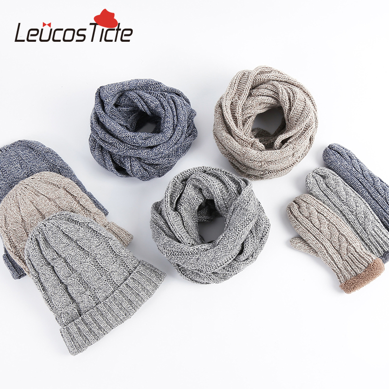 wholesale fashion knitted beanie plus thick velvet hat