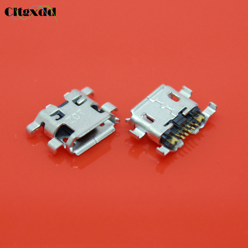 cltgxdd N-099 30PCS Micro USB Jack 5P Female Socket connector 5Pin phone charging port replacement for blackberry 9900 9930 cltgxdd us 019 usb 2 0 port jack plug female socket motherboard connector for acer aspire 5232 5241 5516 5517 5532 5541