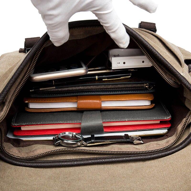 Vintage Men s Briefcases Shoulder Bag Travel Crossbody Bags Causal Canvas Messenger Bag Patchwork Multi function Vintage Men's Briefcases Shoulder Bag Travel Crossbody Bags Causal Canvas Messenger Bag Patchwork Multi-function Laptop XA237ZC