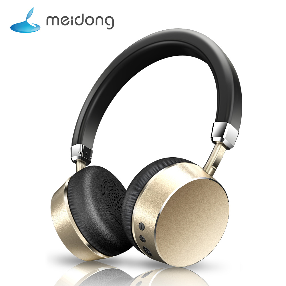 Meidong E6ANC Active Noise Cancelling Bluetooth Headphones Wireless Stereo Super bass Headset with Microphone for Phone PC wireless bluetooth headset mini business headphones noise cancelling earphone hands free with microphone for iphone 7 6s samsung