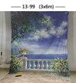 Фон для фотосъемки  ручной работы  10x20 футов  с изображением муслина  1399 цветов  свадебной фотографии