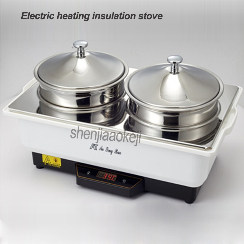 Commercial hotel buffet insulation soup porridge furnace Electric heating insulation stove Restaurant kitchen equipment 1pcCommercial hotel buffet insulation soup porridge furnace Electric heating insulation stove Restaurant kitchen equipment 1pc