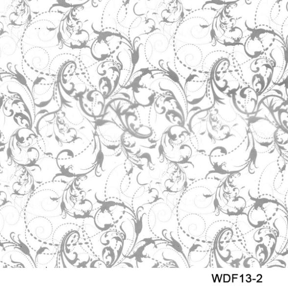 WDF13-2 Decorative Material 10square Width 0.5m Flower Pattern Hydrographic Printing Film