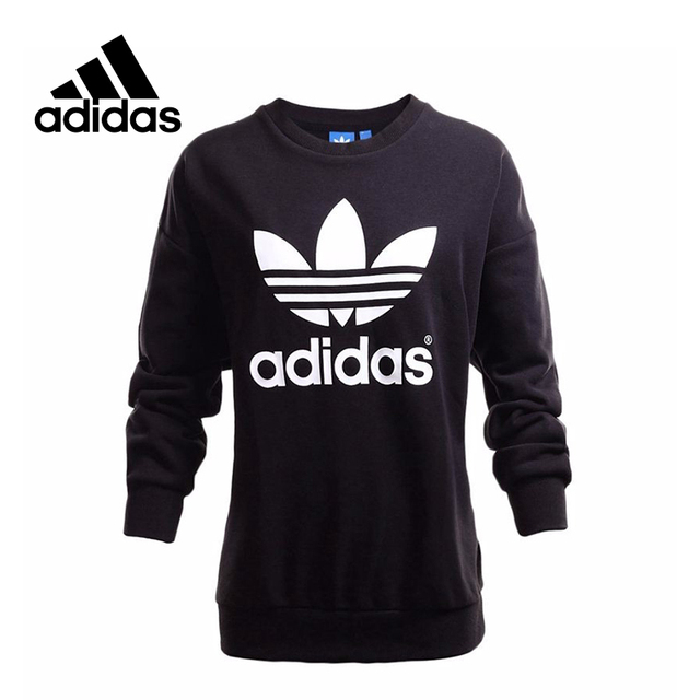 New Arrival Official Adidas Originals Trefoil Sweatshirt Women S