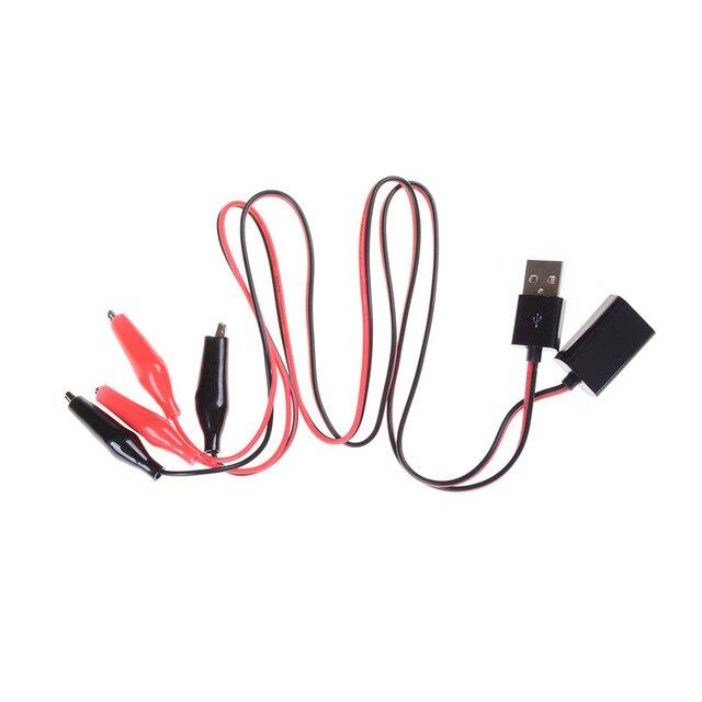 USB Tester DC Voltmeter amperemeter kapazität meter krokodilklemmen ...