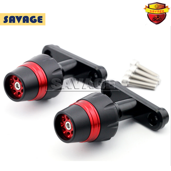 цена на For Bajaj Pulsar 200 NS 2012-2014 Red Motorcycle Accessories Frame Sliders Crash Protector Falling Protection New