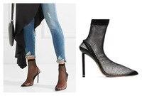 женщины обувь пятки 2018 сандалии женщин сексуальный стиль высокие каблуки носки чистой обуви сандалии женщин стрит Последние моды банкет Са