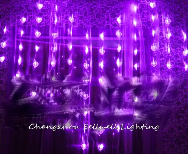 2018 Christmas Tree Decorations New!led Holiday Light Wedding Celebration Showcase Decoration 1.6*2m Bead Curtain Lamp H305 artificial christmas tree christmas decorations for home great wedding celebration product door decoration 3 8m led lamp h315