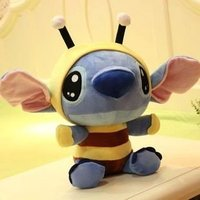 Free shipping super cute hot sale plush toy doll Stitch interstellar baby changeable bee 40cm stuffed toy good for gift 1pc