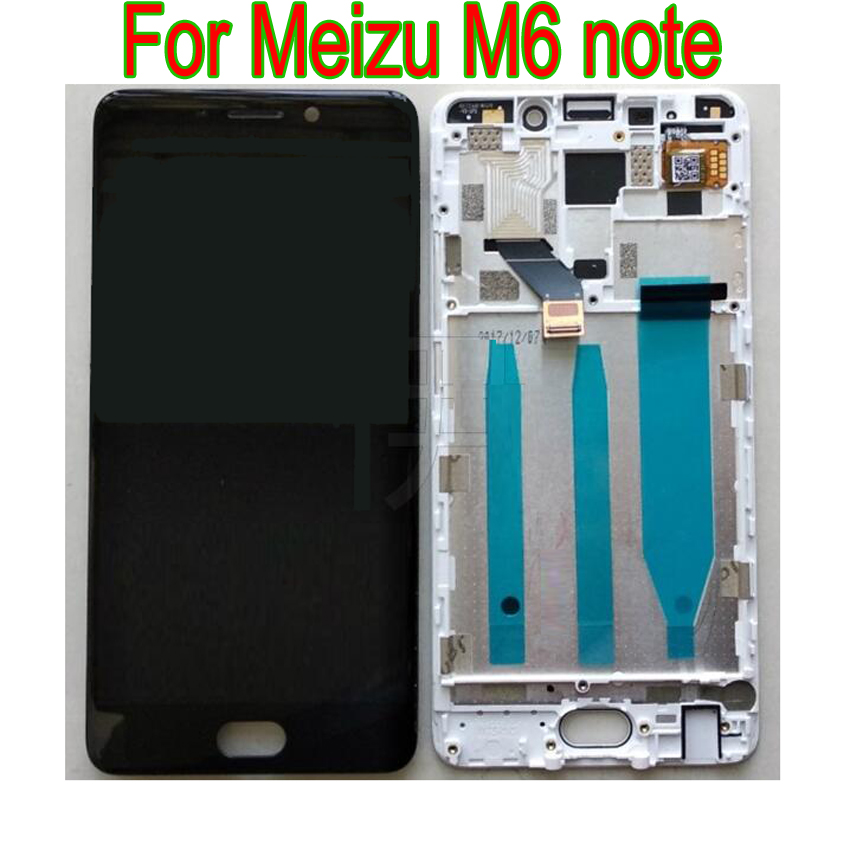 LTPro Full LCD Display Touch Screen Digitizer Assembly or with frame For <font><b>Meizu</b></font> <font><b>M6</b></font> <font><b>note</b></font> <font><b>M721L</b></font> / Meilan <font><b>Note</b></font> 6 M721C M721M M721Q image