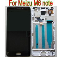 LTPro Full LCD Display Touch Screen Digitizer Assembly or with frame For Meizu M6 note M721L / Meilan Note 6 M721C M721M M721Q