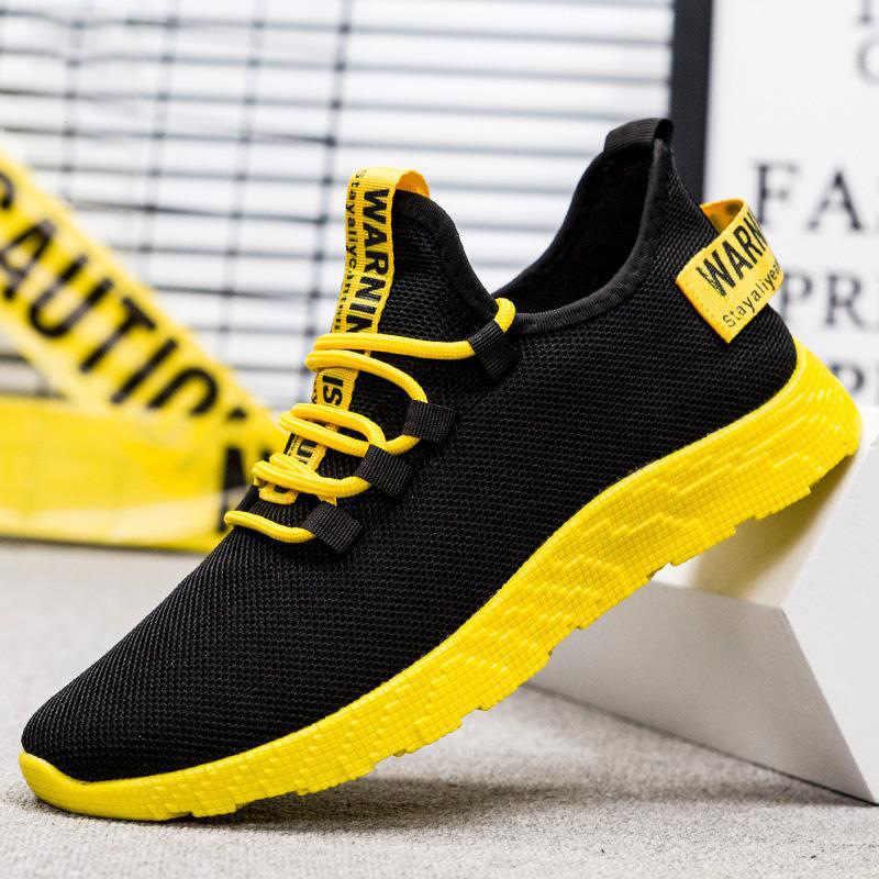Erkek 2019 Popüler Eğlence Oxford Hareket Paten Havalandırma Net Ayakkabı Çalışma Joker Bez Ayakkabı