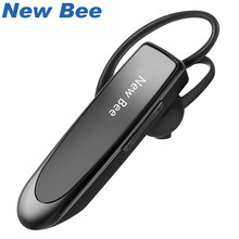 New Bee Wireless Bluetooth Earphones Portable Mini V4.1 Headset 22H Music Playing Earpieces with CVC 6.0 Microphone for Phone PC(China)
