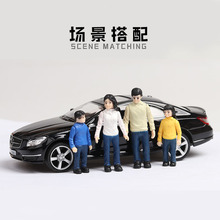 Alloy Car Model 1:32 and 1:36 Model Gifts Color Dolls Plastic Garage Worker Model Street View Can Be Matched with Boy Toys trumpeter 1 32 ju 87a stuka plastic model kit 03213