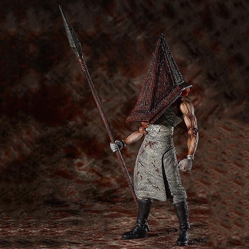 Figure Toys Figma SP-055 Silent Hill 2 Pyramid Red Triangle Head Iron Movable Model PVC Action Collection Doll