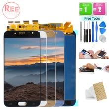 New For Samsung Galaxy J730 J730F J730FM SM-J730F J7 Pro 2017 LCD Display Panel Module + Touch Screen Digitizer Sensor Assembly чехол для samsung galaxy j7 2017 sm j730fm wallet cover золотистый